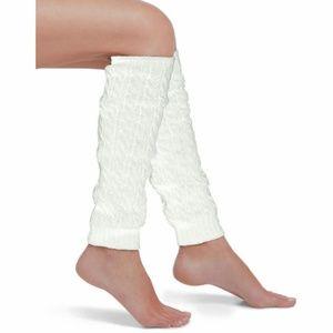 NWT Hue LegWarmers Cable Knit Ivory Cream OSFM